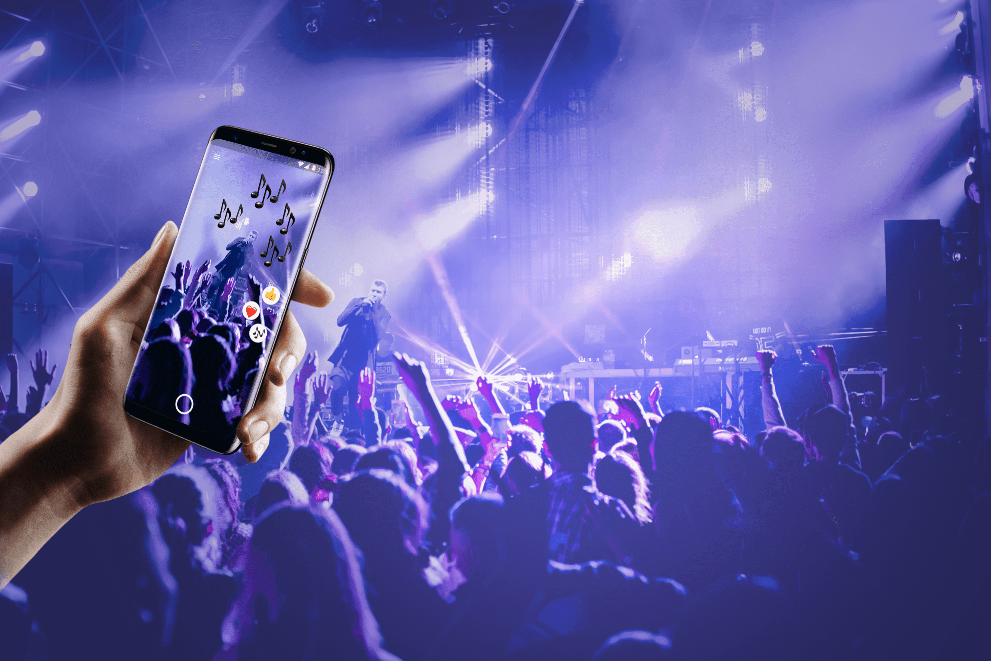 augmented reality for concerts
