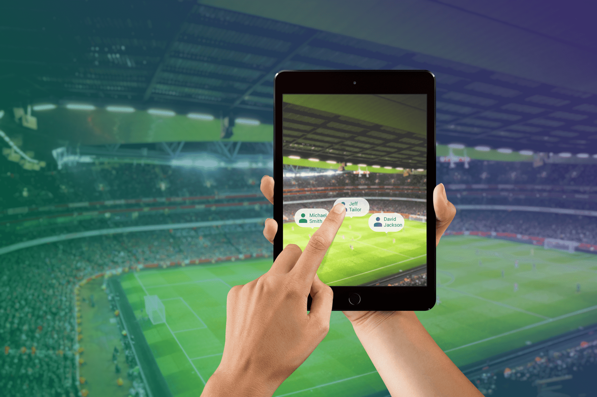 augmented reality for sport events