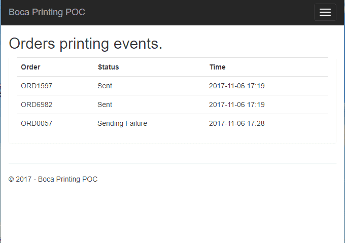 thermal ticketing printer