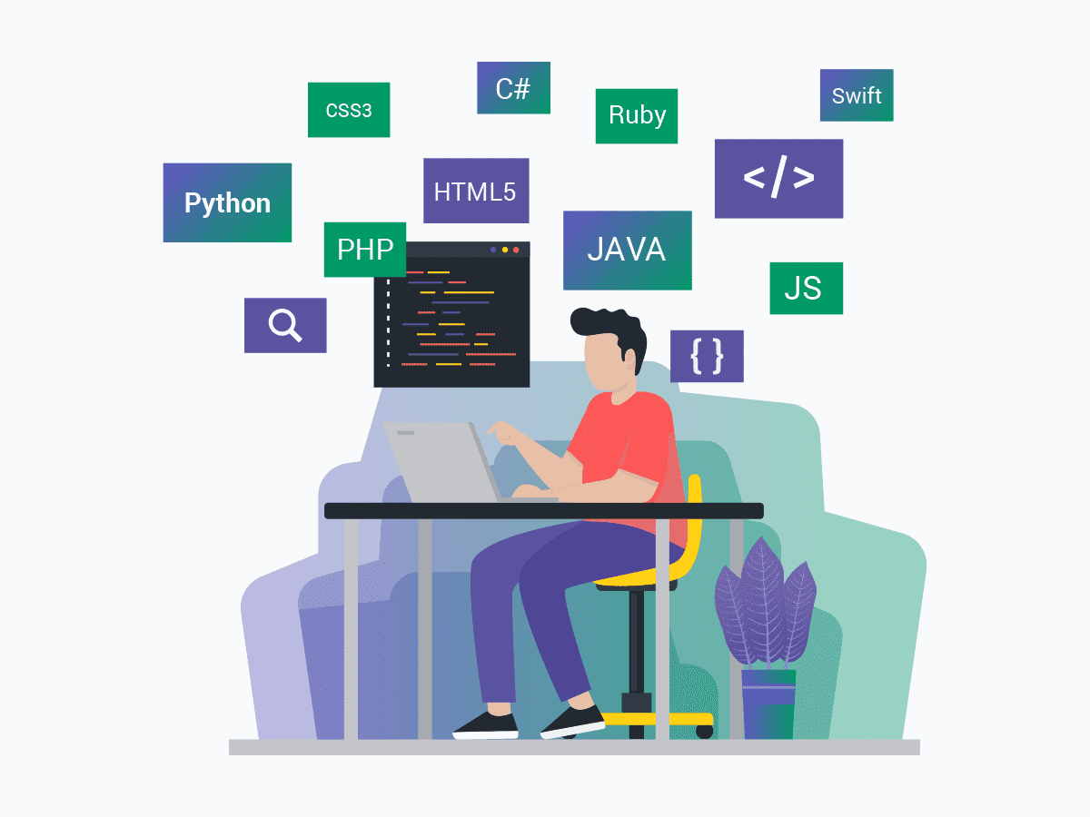 There are more than 690 programming languages to choose from.