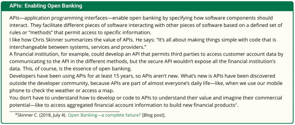 Enabling Open Banking